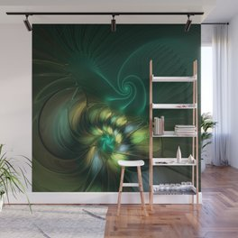 Fractal Fantasia, Radiant And Magical Wall Mural