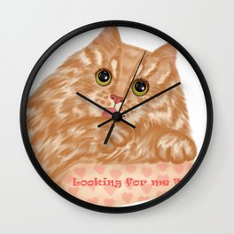 Looking for me? Wall Clock