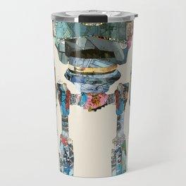 modern iron giant Travel Mug
