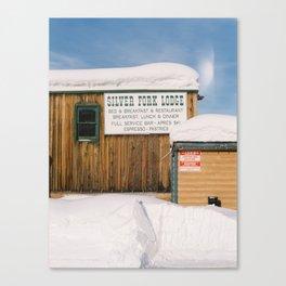 Silver Fork Lodge Cottonwood Canyon Canvas Print
