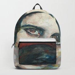 AYN RAND - watercolor portrait.3 Backpack