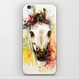 """""""Into the mirror"""" n°2 The horse iPhone Skin"""