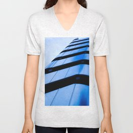 Lloyds Of London building Unisex V-Neck