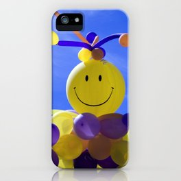 Balloon Man iPhone Case