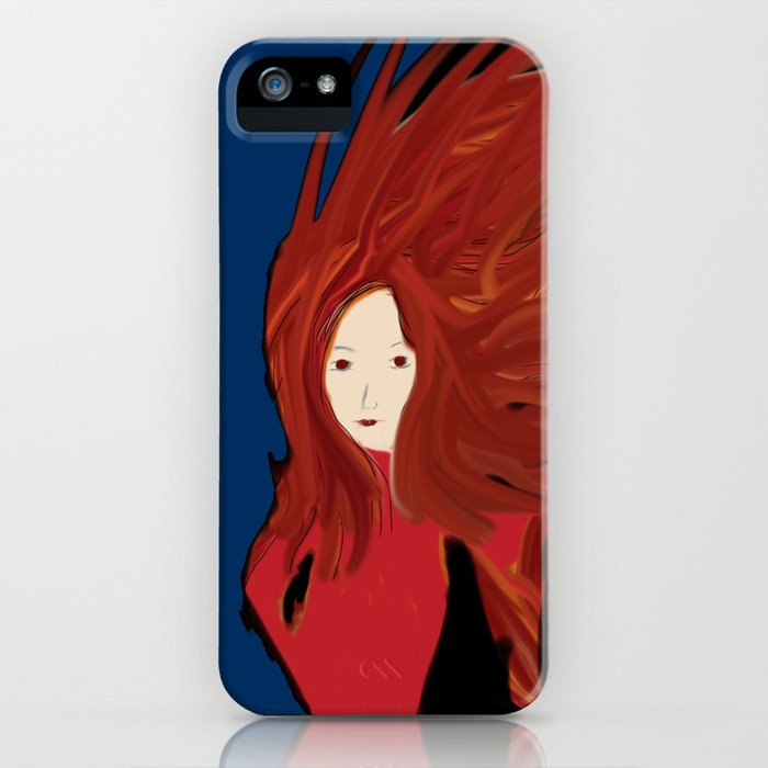 Fire Woman iPhone Case