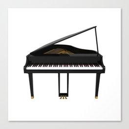 Grand Piano Canvas Print