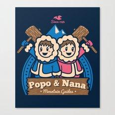 Popo & Nana Canvas Print