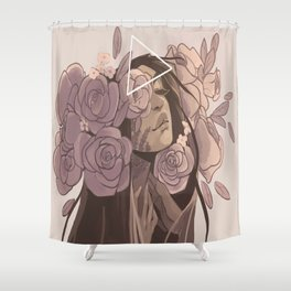 Controlled by mother Shower Curtain