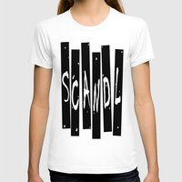 scandal T-shirts featuring SCANDAL by Robleedesigns