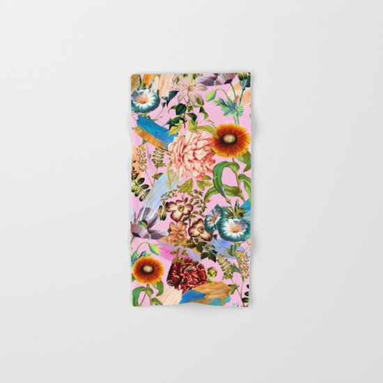 SUMMER BOTANICAL IX Hand & Bath Towel