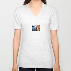 Koi Abstraction 004 Unisex V-Neck