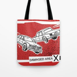 Left Car, Right Car Tote Bag