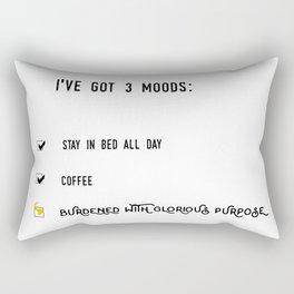 Burdened With Glorious Purpose Rectangular Pillow