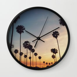 Palm Tree Summer Wall Clock
