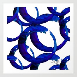 Enso Of Zen No. 21 by Kathy Morton Stanion Art Print