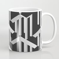 illusion Mugs featuring Illusion by designpraxis