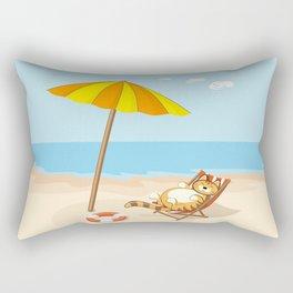 enjoy summer Rectangular Pillow