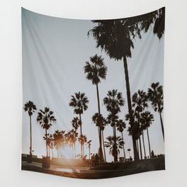 palm trees vi / venice beach, california Wall Tapestry