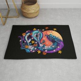 Japanese Dragon Rug