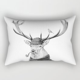 Wild Thinking Rectangular Pillow