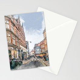 Nottingham art #nottingham Stationery Cards
