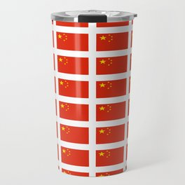 flag of china -中国,chinese,han,柑,Shanghai,Beijing,confucius,I Ching,taoism. Travel Mug