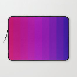 Pink and Purple Color Spectrum Laptop Sleeve