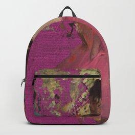 degas ballerinas pink Backpack