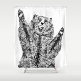 Bears just want hugs Shower Curtain