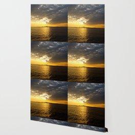 Storm at Sunset Wallpaper