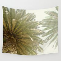 palm trees Wall Tapestries featuring Palm Trees by The ShutterbugEye