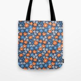 Orange Wildflowers No. 10 Tote Bag