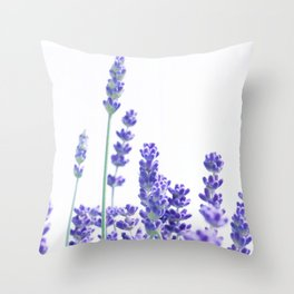 Fresh Lavender #1 #decor #art #society6 Throw Pillow