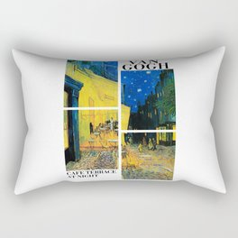 Van Gogh - Cafe Terrace at Night - Stylised Rectangular Pillow