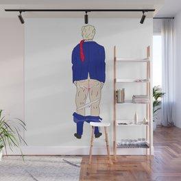 Trump Butt Wall Mural