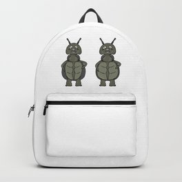 slim and fat bug Backpack