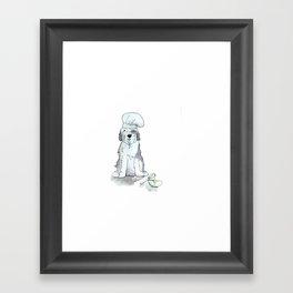 Dog's Day Framed Art Print