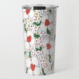 Classic Floral Pattern Travel Mug