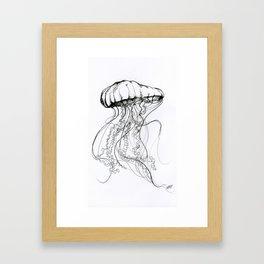 Méduse Framed Art Print