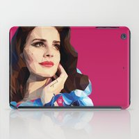ultraviolence iPad Cases featuring Del rey by Jesus Servin