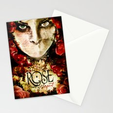 ROSE indie horror poster Stationery Cards