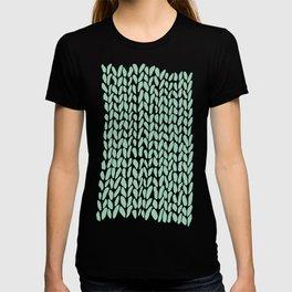 Hand Knit Zoom Mint T-shirt