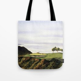 Torrey Pines South Golf Course Hole 3 Tote Bag
