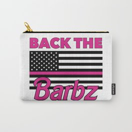 Back the Barbz Carry-All Pouch
