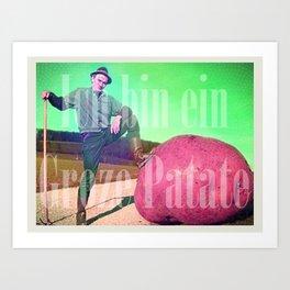 Groze patate Art Print
