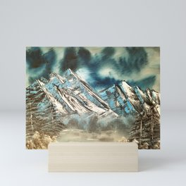Winter Skies Mini Art Print
