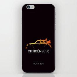 Retour vers le futur - 2CV iPhone Skin