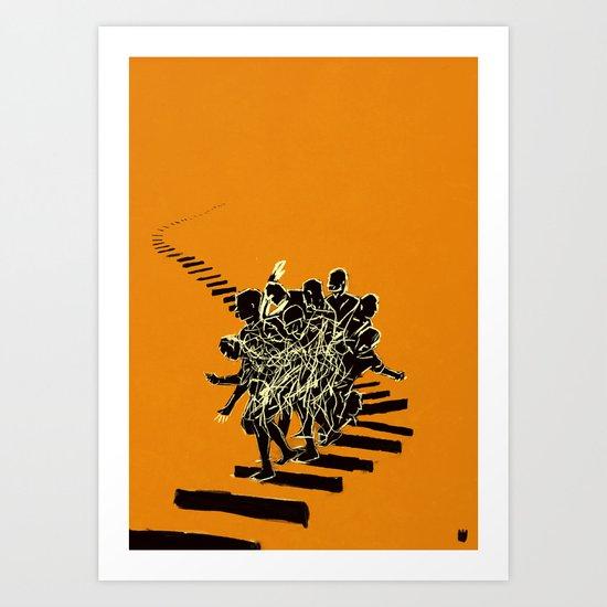 Muto Art Print