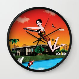 Extremely frequented Wall Clock