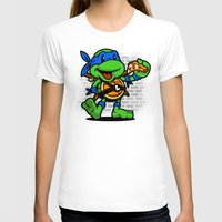 leonardo T-shirts featuring Vintage Leonardo by harebrained